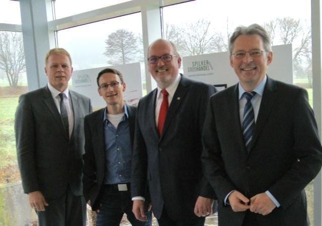 Wirtschaftsgespräch von Rührup, Rahe und Post – Besuch bei Firma Spilker in Hüllhorst-Oberbauerschaft